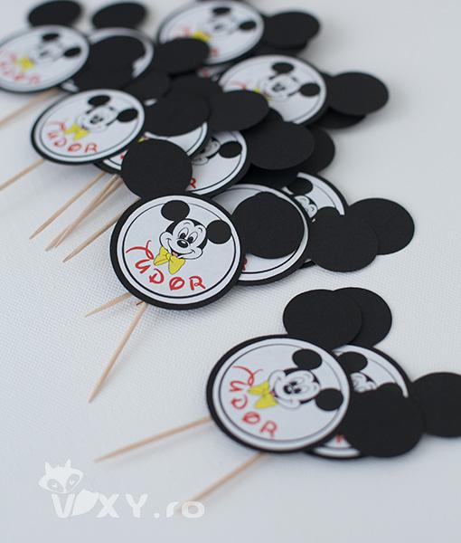 stegulete candy bar Mickey, etichete personalizate Mickey, produse petrecere tematica Mickey