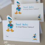 plic pentru dar personalizat tema Donald Duck, plic personalizat cu Donald, produse petrecere personalizate Donald, plic personalizat botez tematic Donald