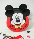 cutie dar botez, cutie dar personalizata, cutie dar Mickey Mouse, cutie handmade, vixy.ro, cutie dar Mickey