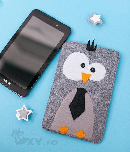 husa tableta, husa pinguin, husa personalizata fonepad, husa kindle, husa ipad, husa fetru, cadouri personalizate, vixy.ro, husă tabletă